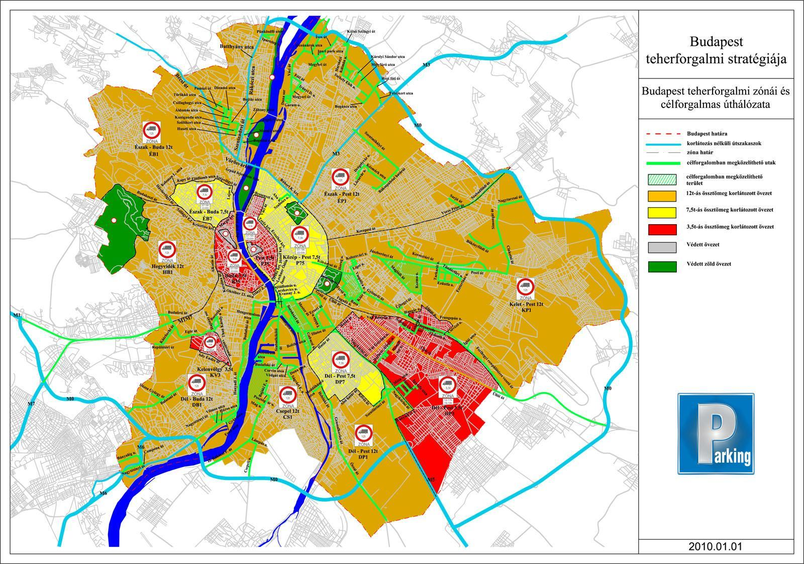 budapest sulykorlátozás térkép Behajtási zónák budapest sulykorlátozás térkép